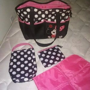 Mini mouse Diaper bag